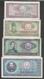 ROMANIA  LOT / SET 4 buc  : 10 + 25 + 50 + 100  LEI  1966  [5]  stari VF+ / XF