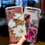 Husa de telefon cu floare alba si pasare pentru Huaweip9lite/p8lite/p10lite/p10
