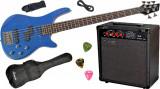 Set chitara electrica bass Santander BG1209-5 P/J & Hy-X-AMP BA-30