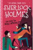Sherlock Holmes. Un caz in rosu aprins | Stephanie Baudet, Curtea Veche