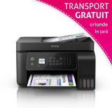 Multifunctionala inkjet Epson L5190 cu CISS integrat, WiFi, A4, LCD color