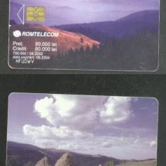 Romania 2002 Telephone card Nature Mountains CT.025
