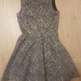 Rochie eleganta, Argintiu, S