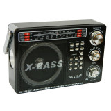 Radio portabil Waxiba XB-1041UR, 3 benzi, Negru