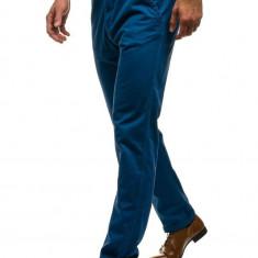 Pantaloni pentru bărbat slim fit alabastru Bolf 6191