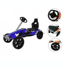 Kart cu pedale pentru copii Go Kart Wind Blue