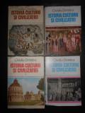 OVIDIU DRIMBA - ISTORIA CULTURII SI CIVILIZATIEI 4 volume, seria integrala