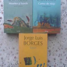 MOARTEA SI BUSOLA. CARTEA DE NISIP. ESEURI. 3 VOLUME - JORGE LUIS BORGES
