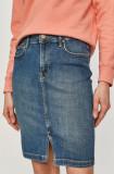 Cumpara ieftin Lee - Fusta jeans