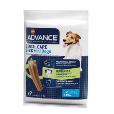 Recompense pentru caini, Advance Dental Stick, Mini, 90 g foto
