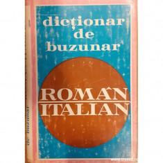 Dictionar de buzunar roman italian