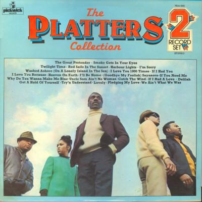 VINIL   2xLP  The Platters – The Platters Collection   -VG+ - foto
