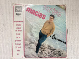 enrico macias a l'olympia disc vinyl lp muzica pop chanson pathe france 1965