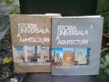 ISTORIA UNIVERSALA A ARHITECTURII - GHEORGHE CURINSCHI VORONA 2 VOLUME