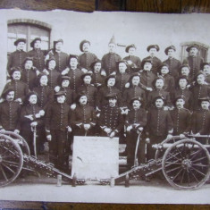 FRANCE , 2e REGIMENT D'ARTILERIE , CLASSE 1892 / FRANTA , REGIMENTUL DE ARTILERIE 2 , PROMOTIA 1892 - FOTOGRAFIE ORIGINALA