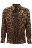 Cumpara ieftin Camasa barbat DOLCE & GABBANA, Dolce & gabbana leopard pajama shirt G5GY4T IS1B7 HY13M Multicolor, 38, 39