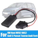Cablu auxiliar Bluetooth Audi / Vw pentru MFD2, RNS2, mufa 18 pini