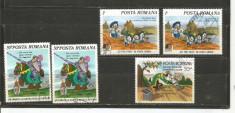 No(2)timbre-Romania 1986--WALT DISNEY -deparaiate foto