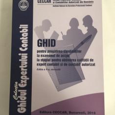 Ghid pentru pregătirea candidaților la examenul de expert contabil