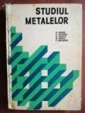 Studiul metalelor- H. Colan, P. Tudoran