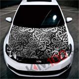 """Sticker Imprimat Color pentru Capota """"Hood Art"""" cod: KM-HOOD-116"""