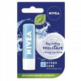 Balsam de buze Nivea Hydro Care, 24h, 4.8g 5.5ml