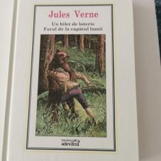 Jules Verne vol. 9: Un bilet de loterie. Farul de la capatul lumii