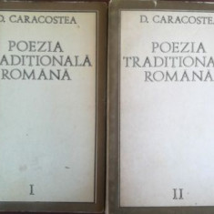 Poezia traditionala romana 2 vol- D. Caracostea