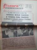 Flacara 16 septembrie 1988-ceausescu vizita in jud.timis,valea lui mihai bihor
