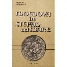 Moldova lui Stefan cel Mare - Nicolae Grigoras