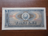 Bancnota 3 lei 1966