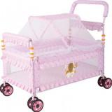 Patut pentru Bebe, Cu 4 roti, Portabil, Cu Plasa tantari, Confortabil, Alte dimensiuni, Altele