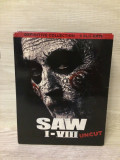 BoxSet Saw colectia completa - 8 filme horror (9 discuri bluray) , NOU