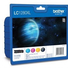 Brother LC1280XLVALBP Set cartuse color de capacitate mare - 2.400 pagini