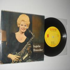 INGELA BRANDER: EP CU 4 PIESE JAZZISTICE(1964)(vinil stare impecabila Ex/NM)