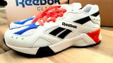 39,40_adidasi unisex Reebok_piele_gri_cutie