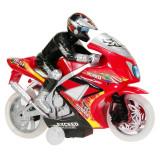 Motocicleta Race cu Rider, sunet si lumina, 30 x 24 x 10 cm, Oem