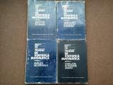 Tratat De Statistica Matematica - Ghe.Mihoc , V.Craiu -4 VOLUME--RF17/4