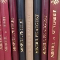 Mineiul pe septembrie în piele, Liturghier, Octoih Mare, Molitfelnic, Penticost