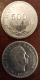 SV * Romania 500 LEI 1946 * REGELE MIHAI I UNC+, Aluminiu