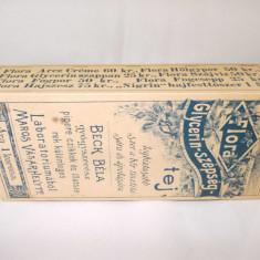 Cutie crema de corp Flora aprox.1895, Targu Mures