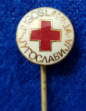 Insigna Donator Onorific - CRUCEA ROSIE Medicina Sanitare Donator de sange #18