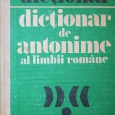 DICTIONAR DE ANTONIME AL LIMBII ROMANE - MARIN BUCA , ONUFRIE VINTELER
