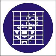 Indicator Utilizati grilajul de protectie - Semn Protectia Muncii