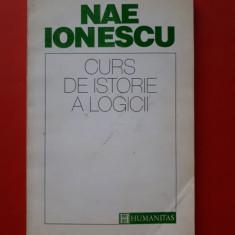 CURS DE ISTORIE A LOGICII × Nae Ionescu