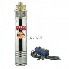 Pompa Submersibila de Adancime cu Panou Comanda 1100W Verk V4S1100B