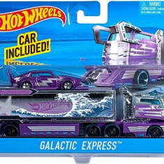 Jucarie Hot Wheels City Rig Galactic Express