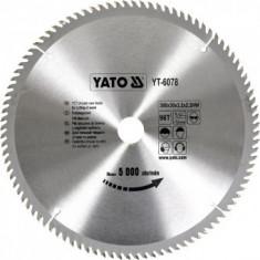 Panza fierastrau circular pentru lemn, Yato YT-6078, 300x96Tx30x3.2mm