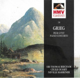 CD Grieg ‎– Peer Gynt / Piano Concerto , original