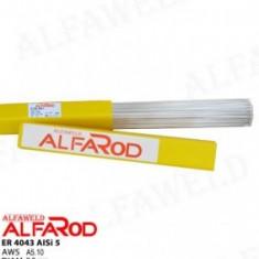 Baghete ( vergele ) aluminiu AlSi5 1*1000mm d=2,0 mm